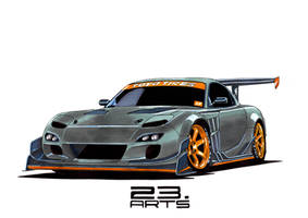 Rx-7 by bass-engineer