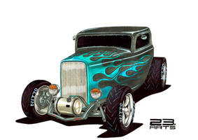 HOT ROD FORD 1930 by bass-engineer