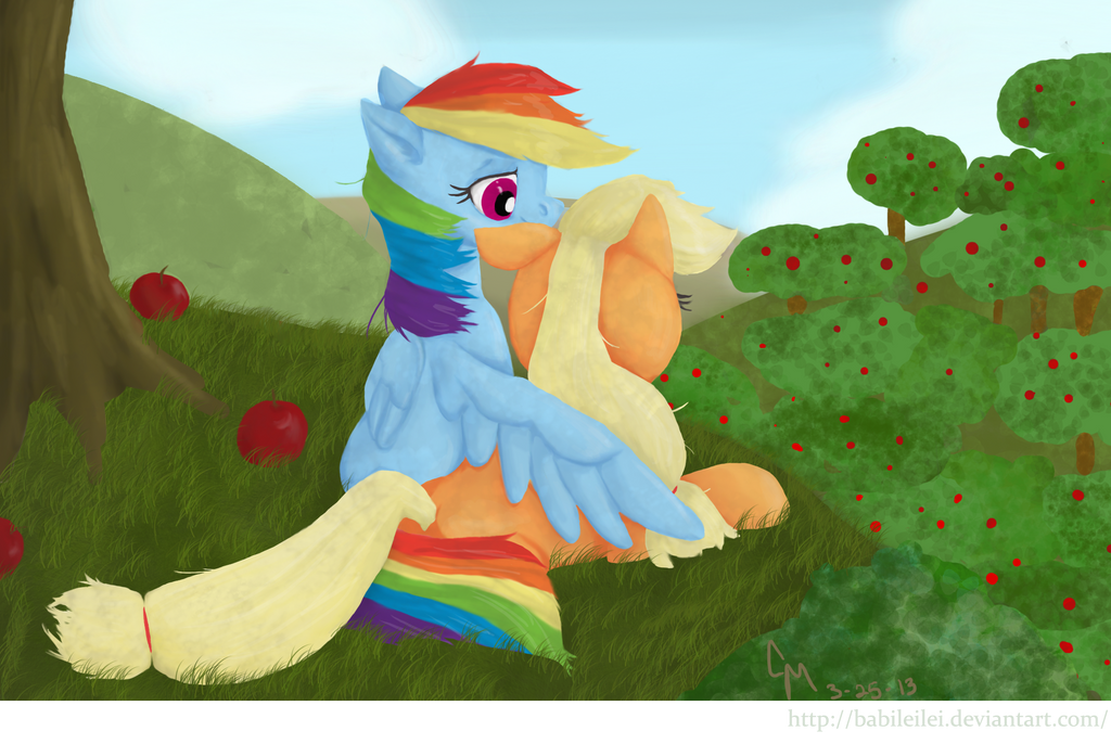Don't Sit Under The Apple Tree by Babileilei