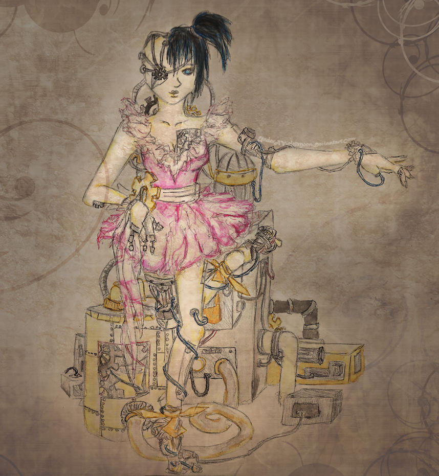 Mechanical Ballerina by UnderAVioletMoon