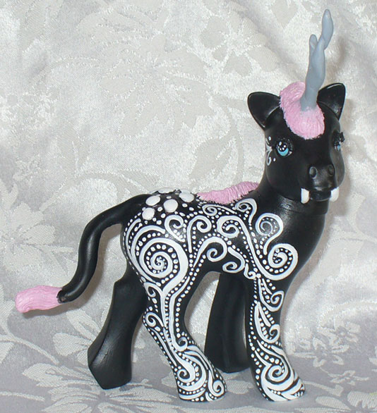 Kirin My Little Pony Custom by mayanbutterfly