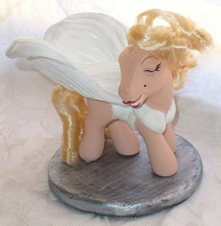 Marilyn Monroe My Little Pony by mayanbutterfly