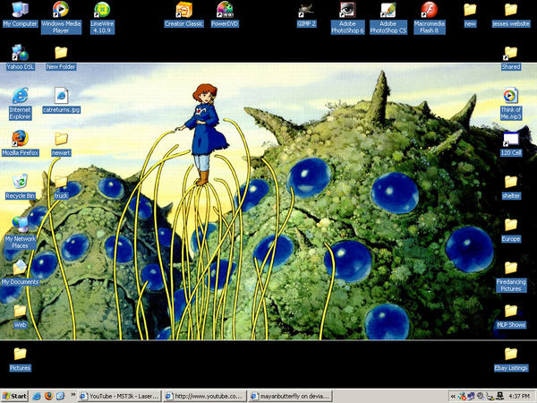 Nausicaa Screenshot by mayanbutterfly