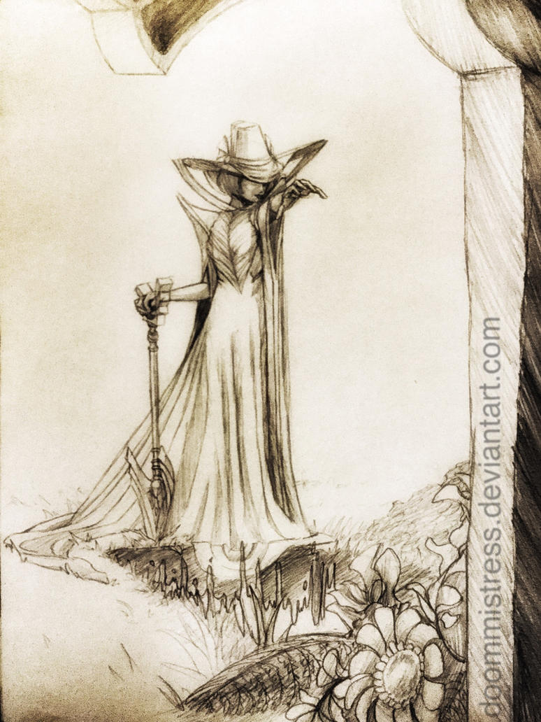 Day14 Healer witch by DoomMistress