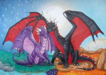 Dragon Valentine by Lylenn