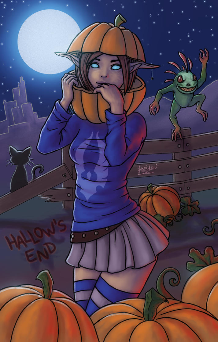 Halloween Adel by Jupiter-SG