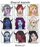 Elves of Azeroth
