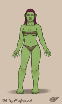 Warcraft Doll Orc