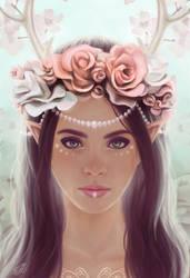 Elven crowns - roses by Lylenn