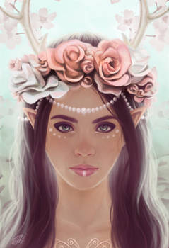 Elven crowns - roses