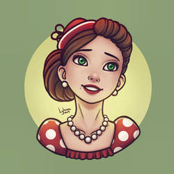 Retro Lady