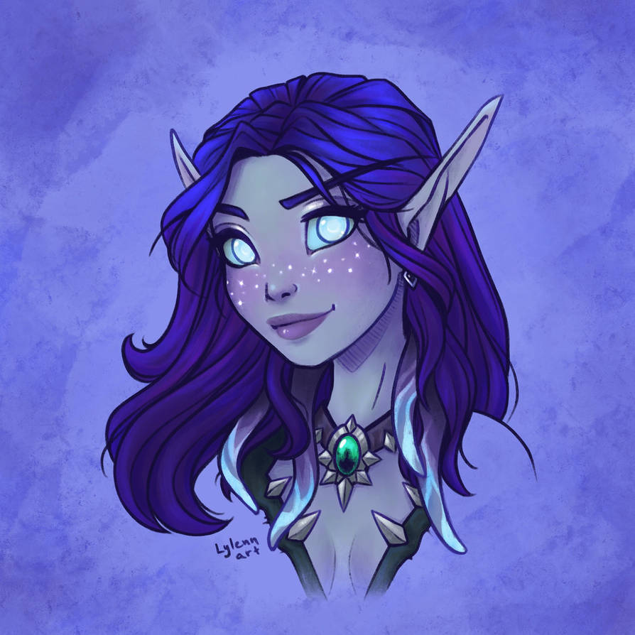 Void elf Kaylara