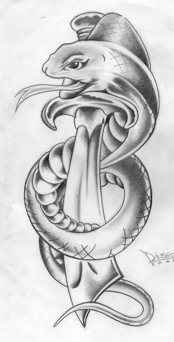 Snake B-W