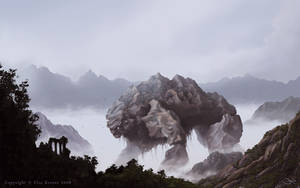 Mountainbeast by ElsaKroese