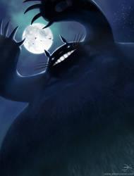 Totoro by ElsaKroese