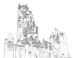 Spindrift - Aureate Linaart by ElsaKroese