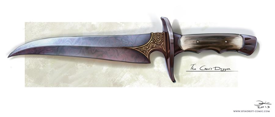 Ficha Técnica: Drayton The_crow_s_dagger_by_elsakroese-d66yi6o