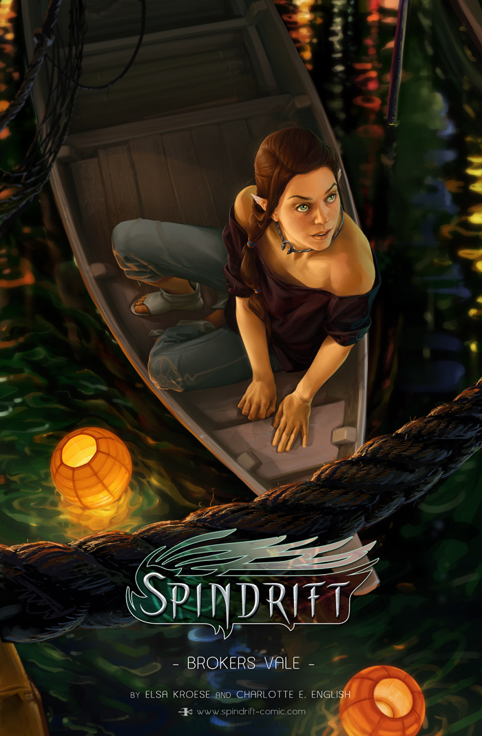 Spindrift Chapter 2 Cover by ElsaKroese