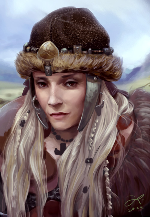Shield maiden by ElsaKroese