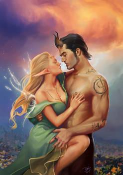 Neburas and Neva, Spindrift romance cover parody
