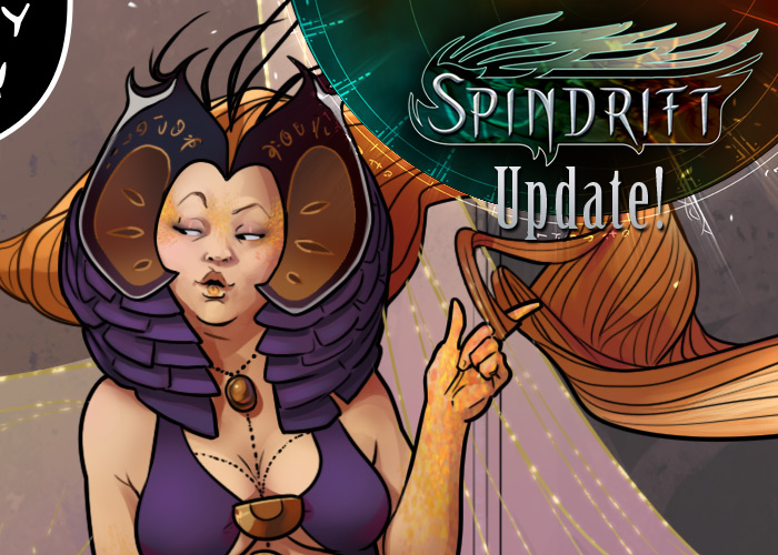 Spindrift page 101 is up! by ElsaKroese