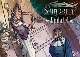 Spindrift page 105 is up! by ElsaKroese