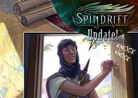Spindrift page 106 is up! by ElsaKroese