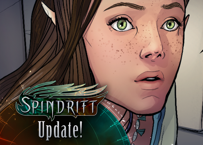 Spindrift page 107 is up! by ElsaKroese