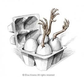Egg by ElsaKroese
