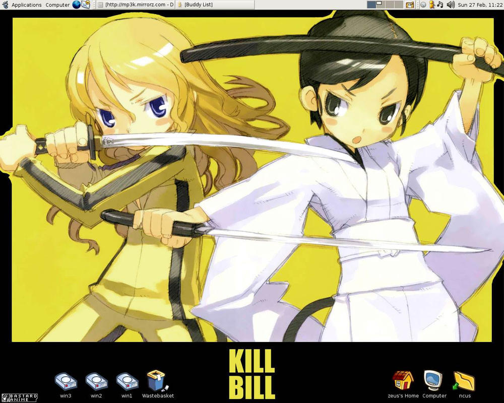 Ubuntu Kill Bill by ncus