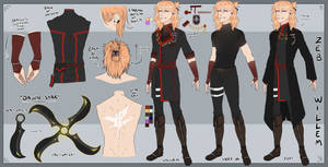 [DGM fan-character reference] Zeb Willem