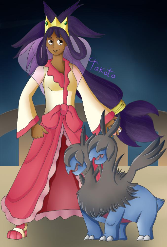 Iris + Zweilous by Takoto