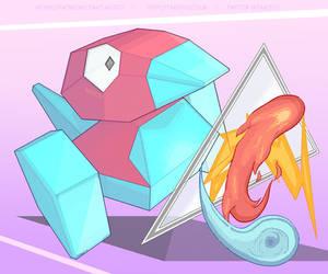 Tri-Attack Porygon by Takoto