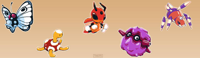 Bug Pokemon Sprites [2]