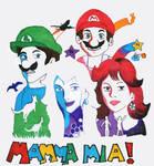 Mamma mia Mario- Abba style