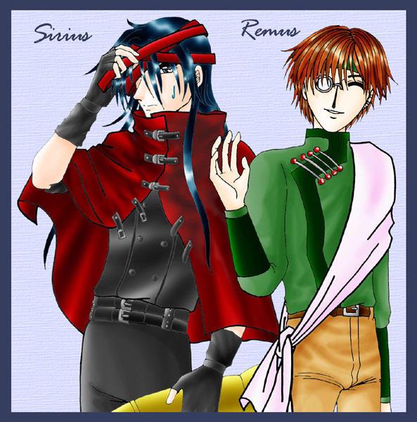 Sirius Remus - Vincent Hakkai by cyberhell