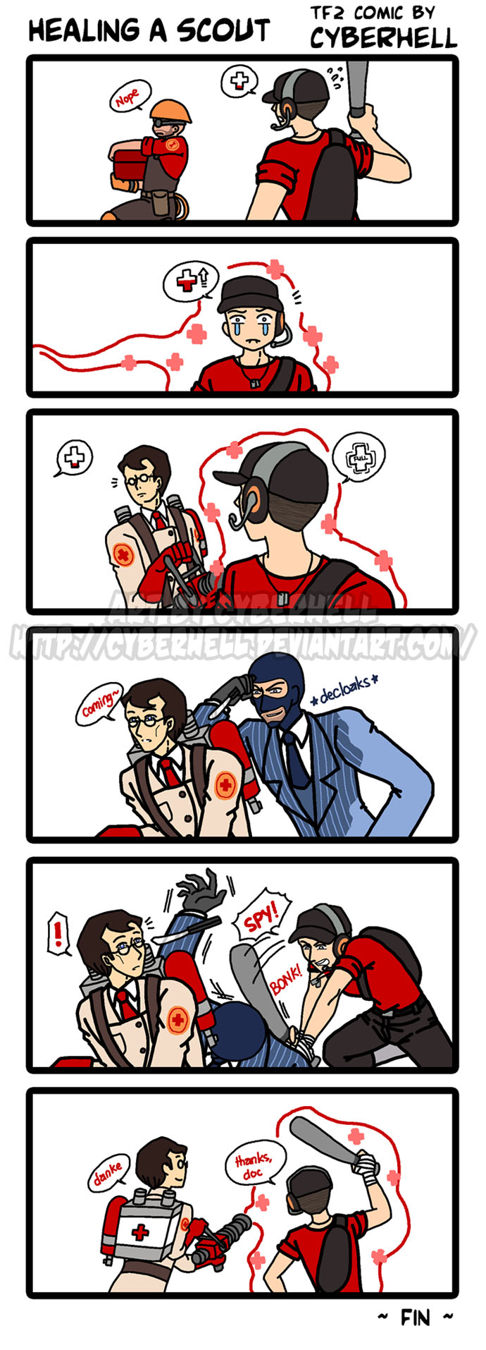 Healing a Scout by cyberhell