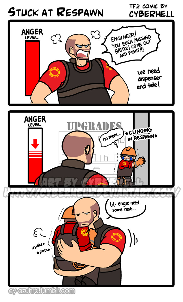 Stuck At Respawn by cyberhell