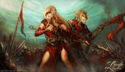 Battle of Citavio by shizen1102