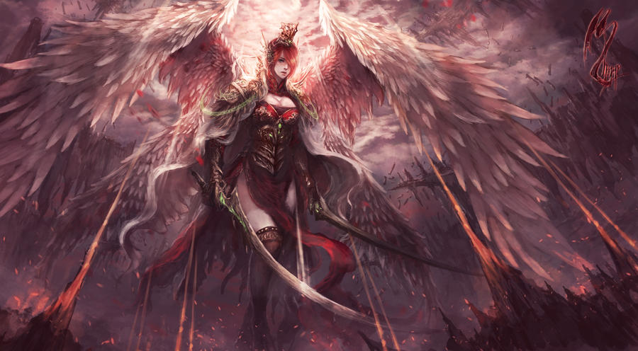 Mayhem Angel by shizen1102