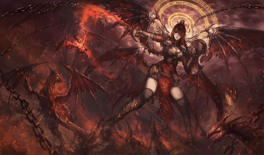 Fantasy domination art