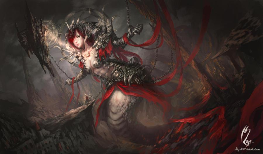 Sacrifice by shizen1102