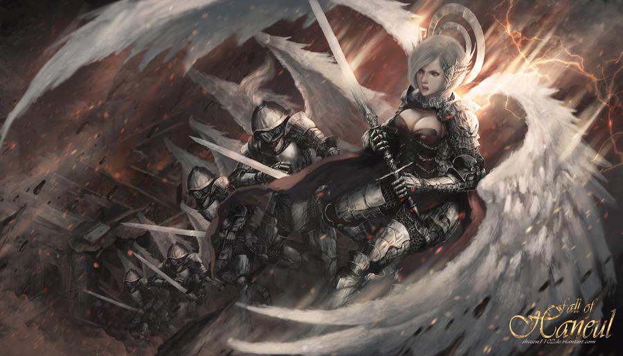 Angelic Legion by shizen1102