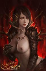 Temptation [Semi-Nude] by shizen1102