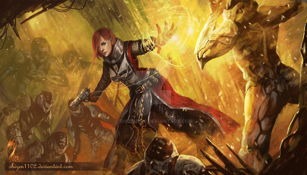 Destiny Warlock By Shizen1102 On DeviantArt