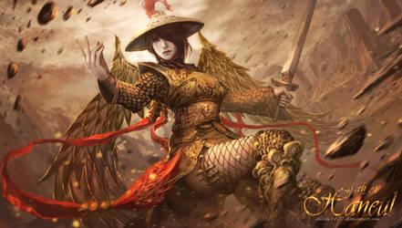 Empress of the Golden Phoenix Order by shizen1102