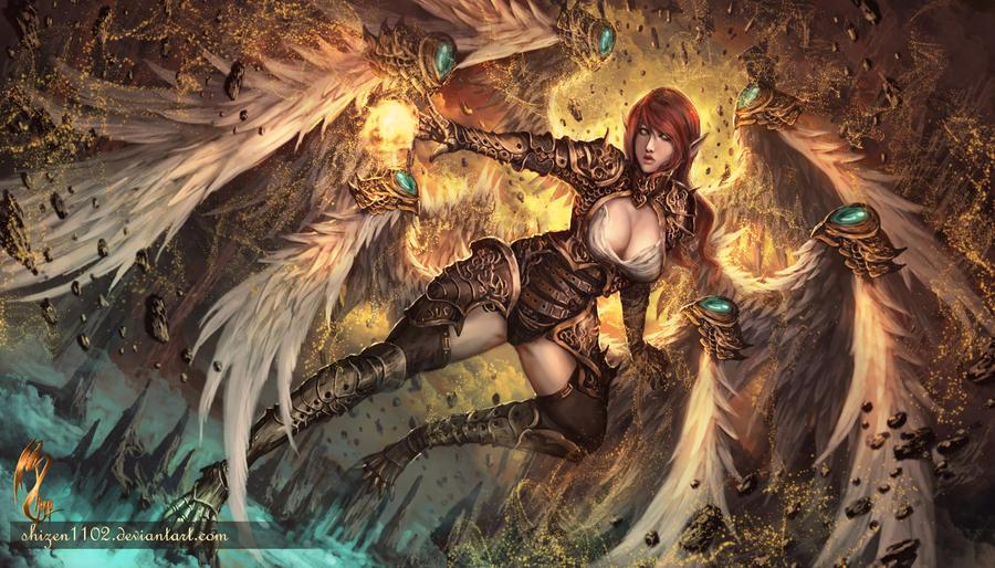Seraphim by shizen1102