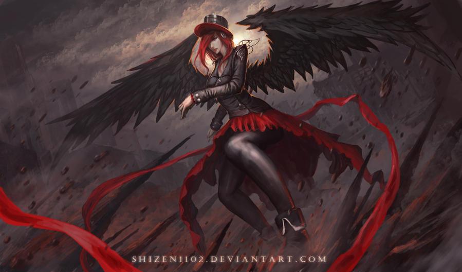 Dark Angel by shizen1102