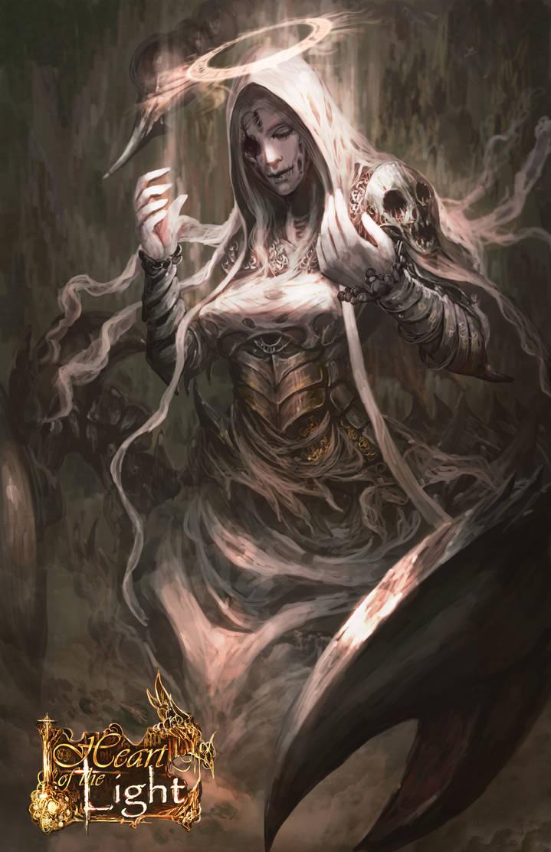Etheriel - Archangel of Disease by shizen1102