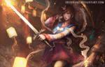 Sword Dancer D.Va
